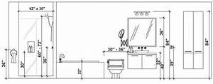 Renover sa salle de bain les bonnes mesures guides de for Superior meuble sous evier lapeyre 8 meuble salle de bain quelle hauteur