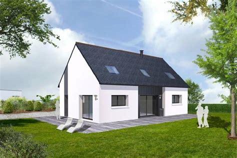 plan maison plain pied 100m2 3 chambres offres projets de construction terrain maison