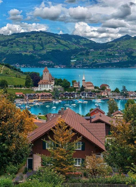 Spiez Switzerland Places To Travel Beautiful Places