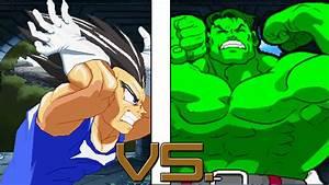 Dream Match - Vegeta vs Hulk - YouTube