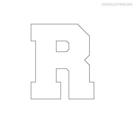 block letter stencils 8 best images of printable block letter r large