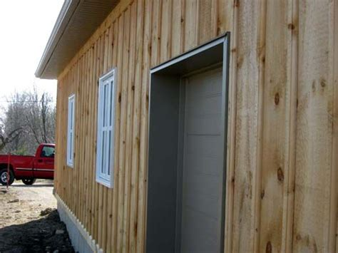 Cedar Wainscoting by Pine Board And Batten Bevel Siding Cove Siding Clap