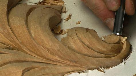 acanthus leaf carving baroque  woodcarvingworkshopstv