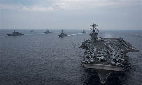 carl vinson strike departs for second 3rd fleet