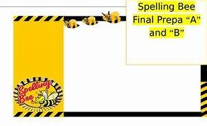 spelling bee invitation for parents by karla childs tpt With spelling bee invitation template