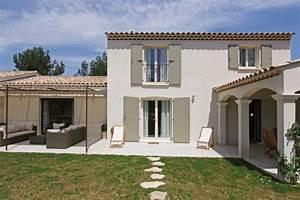 maison provencale intemporelle provence architecture With couleur facade maison provencale 0 maison provencale moderne
