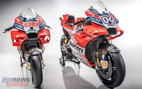Ducati Unveil 2018 Desmosedici Gp At Bologna Launch