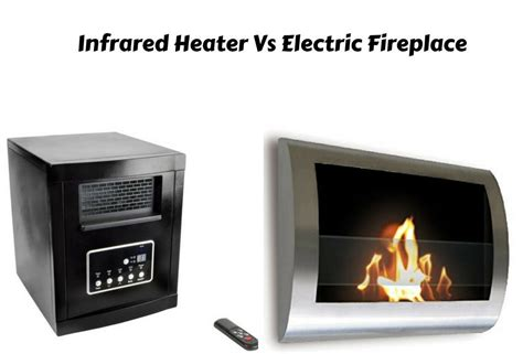 the best electric fireplace heater electric fireplace vs infrared heater which is the best