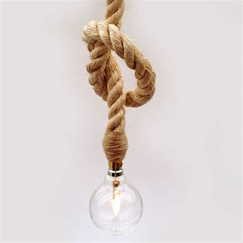 rope pendant light globe rope pendant light by unique s co