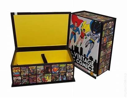 Comics Dc Postcards Box Comic Books Collectible