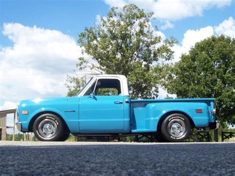 awesome 1971 chevrolet c 10 stepside bed built 350 v8 a c show and go for sale