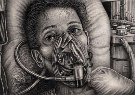 'survivor' Graphite Drawing By Pentacularartist On