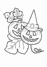 Disegni Colorare Halloween Stampare Gratis Zucca Disegno Zucche Colorati Ottobre Immagini Bambini Drawings Vitadamamma Google Stampa Disney Colora Streghe Bello sketch template