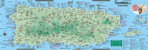 large detailed tourist map  puerto rico  cities