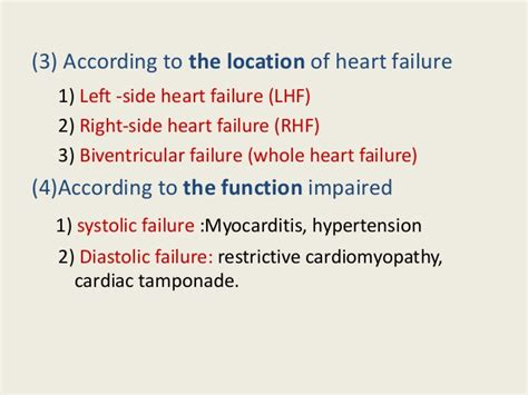congestive heart failure revised