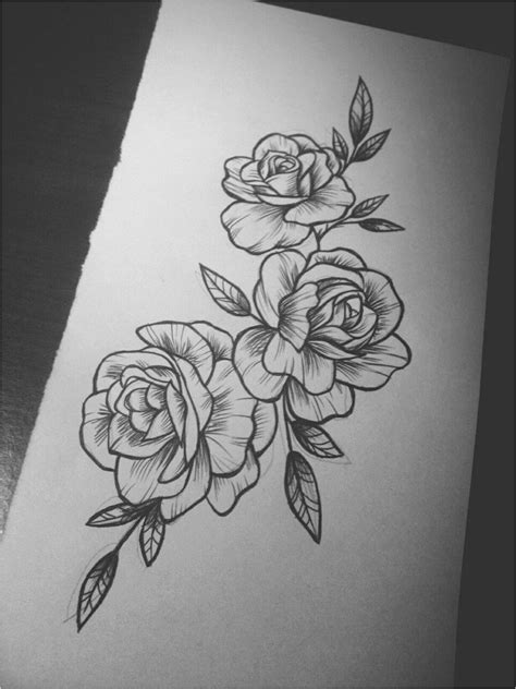 Tattoo inspiration. #ModernTattooDesigns Click to see more.   Flower tattoo drawings, Tattoos