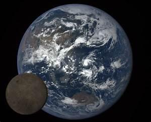 NASA Catches The Moon Photobombing Earth Again