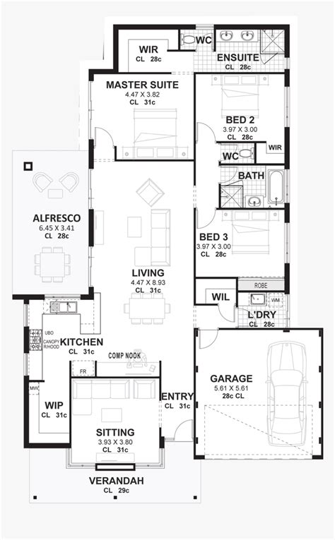 Categories Small 3 Bedroom House Plans