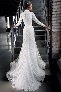 sexy wedding dress slimming long sleeves wedding dress With slimming wedding dresses