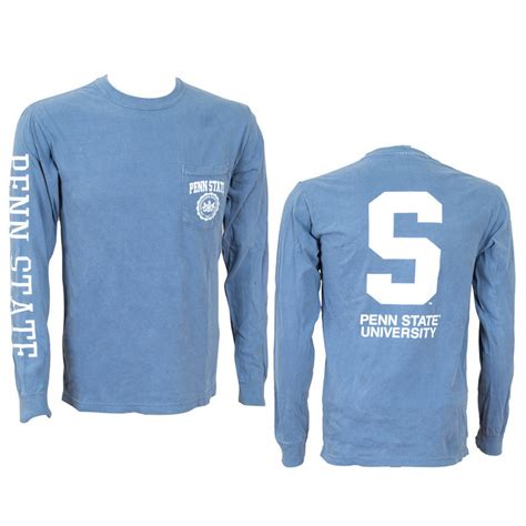 penn state colors sleeve penn state shirts discount penn state apparel