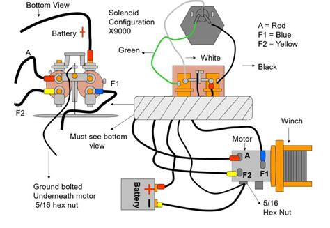 Electric Winch Wiring Diagram Technical Diagrams