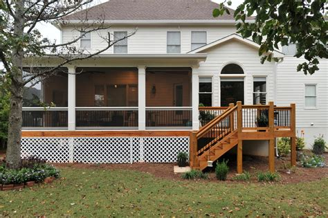 house plans with screened porches the deck storage ideas diy