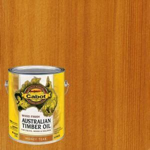 cabot  gal honey teak australian timber oil exterior