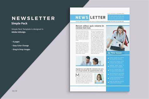 powerpoint newsletter template business newsletter template brochure templates creative market