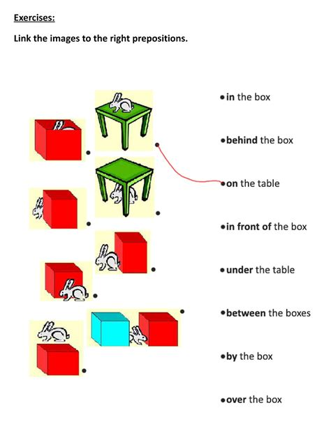 Prepositions Of Time Place And Movement Exercises Pdf  English Exercises Prepositions Of