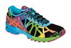 Neon Running Shoes on Pinterest