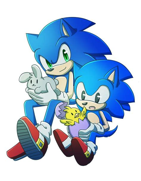 Happy Easter 2014 by heihei188   Sonic, Classic sonic ...