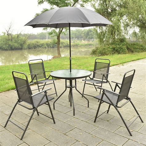 Outdoor Table Set by Equipment Outdoor Patio Furture Set Table With 4