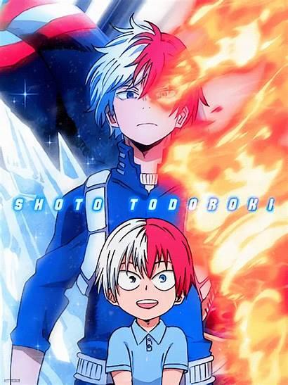 Academia Hero Todoroki Characters Mha Names Shouto
