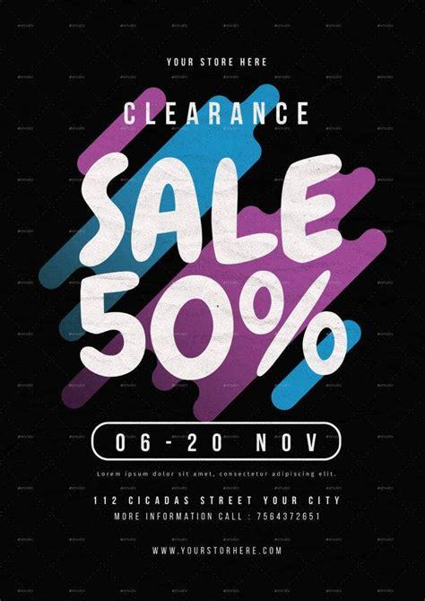 13 + Clearance Sale Flyer Designs & Templates - PSD, AI ...
