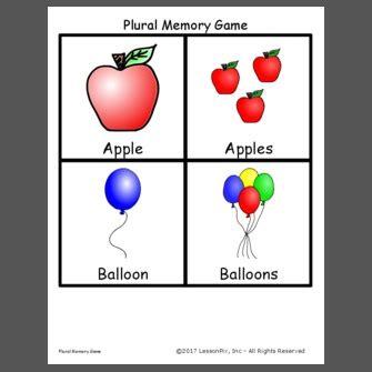 plural memory game