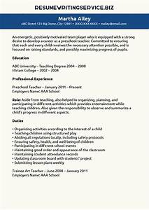 preschool teacher resume sample resume writing service With teacher resume writing service
