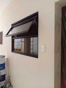 foto ventana de proyección de vidrio y aluminio quot sofia
