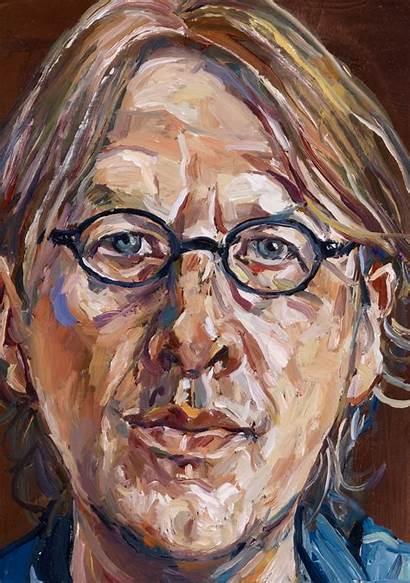 Portrait Archibald Self Prize Miller Portraits Painting