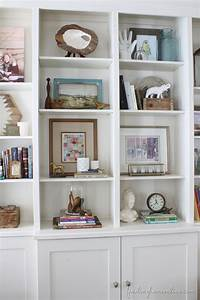 bookshelf decorating ideas Lessons Learned in Styling a Bookcase - Finding Home Farms