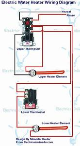 240v Electric Water Heater Wiring Diagrams