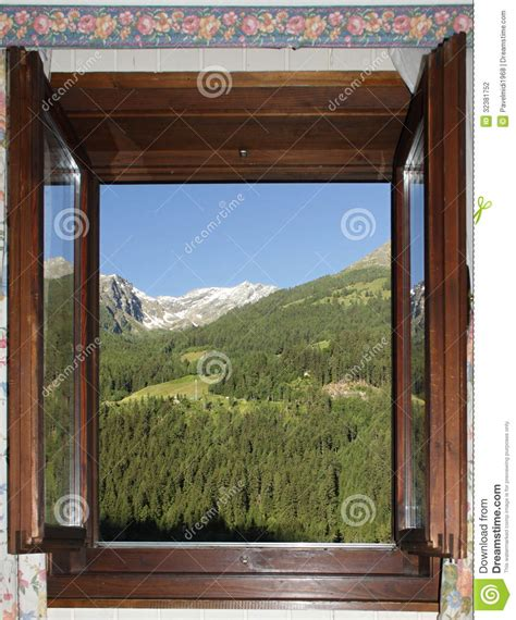Offenes Fenster Bild by Offenes Fenster Stockfoto Bild Wald Glas Holz