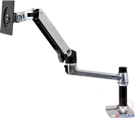 Computer Monitor Arm Desk Mount by Ergotron Lx Desk Mount Lcd Arm Photos Kitguru United Kingdom