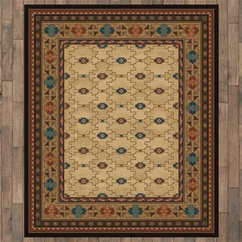 rustic elegance rug