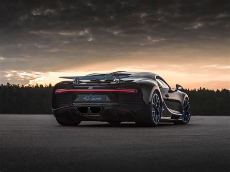 Every second and metre counts. The $3 million Bugatti Chiron set a new speed record ...
