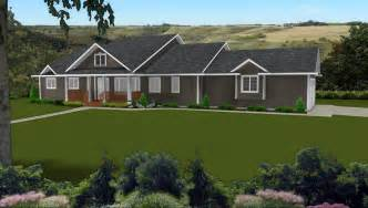 simple ranch style homes with walkout basement ideas ranch house plans by edesignsplans ca 5