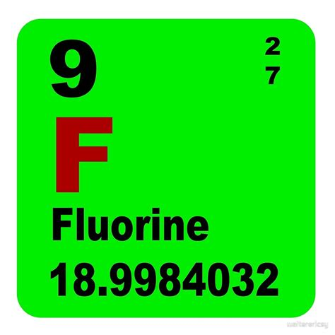 Number Of Protons In Fluorine by Fluorine Periodic Table Cabinets Matttroy