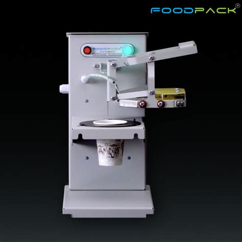 paper cup paper container sealing machine foodpack