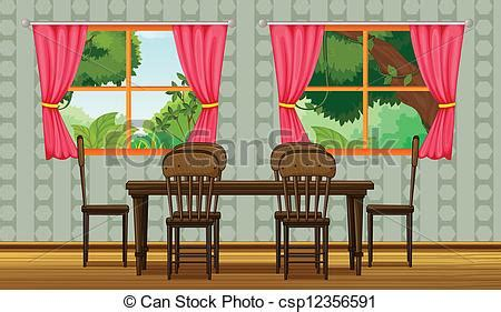 Icon Dining Room Clipart