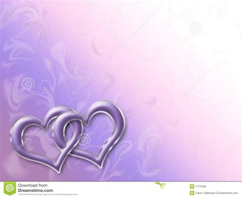 linked hearts royalty  stock  image