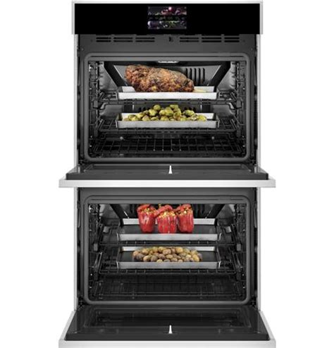 ztdxdssnss monogram  smart electric convection double wall oven minimalist collection